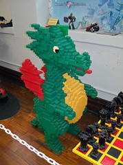 OH Bellaire - Toy & Plastic Brick Museum 62 (scottamus) Tags: ohio sculpture statue lego display roadside bellaire attraction belmontcounty toyplasticbrickmuseum