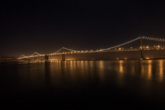 One Night in San Francisco (Thomas Hawk) Tags: sanfrancisco california bridge usa unitedstates fav50 unitedstatesofamerica baybridge fav10 fav25 fav100 dmuphotowalk01162011