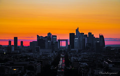 Golden Hour - La Défense, Paris (Cloudwhisperer67) Tags: canon 760d electric mist haze fog yellow orange la défense defense august summer panorama city love paris sky cloudwhisperer67 cityscape scape skyline cloud incredible france atmosphere chaos cloudwhisperer blur blurred chaotic ambiance chaotique whisperer raphael clouds golden skies skyscape flickr award flickrawardgallery flickraward5 landscape magic marvellous capture work photography urban lovely world exploration art light sunset dawn architecture travel town explore sun down europe europa sunrise colorful gold hour hours