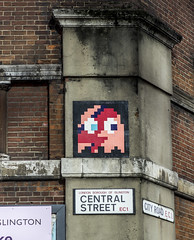 Space Invader, City Road, London (IFM Photographic) Tags: streetart london canon grafitti ghost spaceinvader pacman invader usm islington ef ef2470mmf28lusm davidbowie londonboroughofislington lseries 2470mm ziggystardust f28l 600d img7991a