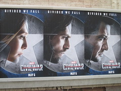 Captain America Civil War Sidewalk Billboard 2016 ADs 8148 (Brechtbug) Tags: world street new york city nyc chris winter two 3 america ads movie subway poster soldier book three evans war theater comic sam sebastian theatre near steve entrance super joe ironman tony billboard lobby stan sidewalk v civil ii ave captain hero falcon anthony billboards wilson shield vs rogers marvel stark 7th barnes bucky russo the 2016 36th standee 04142016