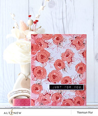 Floral Card (RejoicingCrafts) Tags: floral cards handmade stamp stamping papercrafts handmadecard cardmaking paintedflowers altenew