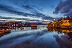 Stekkevika, Toft (sindreturoy) Tags: sunset sea sky beautiful norway clouds canon eos coast boat norge hordaland lightroom toft beautifulearth ygarden 700d t5i stekkevika kysteventyret