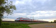 ETR600 treno 8 (equo25) Tags: speed train high eurostar eisenbahn railway zug alta treno velocit freccia trenitalia argento passeggeri schnellzug elektrotriebwagen personenzug