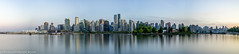 Vancouver Cityscape (Robert Henrickson) Tags: reflection water vancouver cityscape stanleypark coalharbour deadmansisland