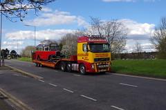 IMGP0077 (Steve Guess) Tags: uk england bus museum cub surrey gb cobham trailer weybridge leyland brooklands byfleet