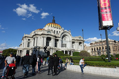 Palacio de Bellas Artes, Mexico City (*Andrea B) Tags: city mxico de mexico mexicocity df january ciudad artes federal bellas palacio distritofederal palaciodebellasartes distrito 2016 ciudaddemxico january2016