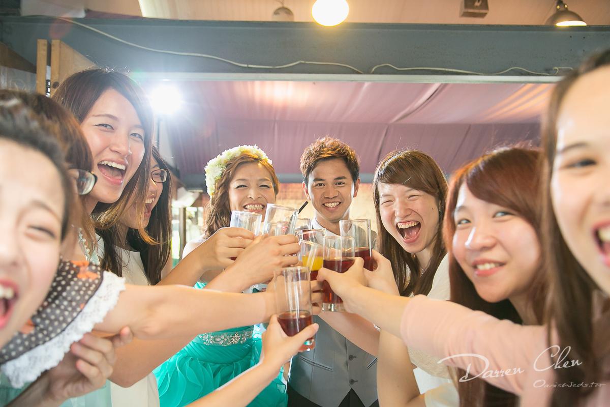 泰山香草花緣-證婚.宴客.西式buffet.幸福綠洲婚禮紀錄