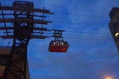 Shots in the Dark - (Last of) Impressions of NYC after Dusk (catchesthelight) Tags: light sky buildings dusk manhattan tram april rooseveltisland afterdark firstimpressions 2016 newyorkcityny springvisit catchesthelight