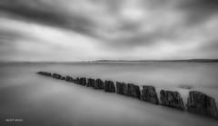 Untitled (Geoff Mock) Tags: blackandwhite bw swansea coast nikon outdoor wideangle mumbles swanseabay tokina1116mm silverefexpro nikond7000
