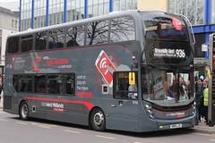 National Express West Midlands Alexander Dennis Enviro400 MMC 6755 (SN15 LJX) (Walsall) 'Elysia' (john-s-91) Tags: birmingham 6755 nationalexpresswestmidlands route936 alexanderdennisenviro400mmc sn15ljx