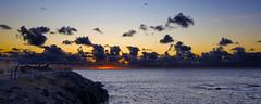 Puesta de sol entre nubes (Lunasanz) Tags: sunset sol de atardeceres puesta