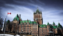 Most photographed hotel in the world (laforest.francis) Tags: old canada castle architecture quebec chteau