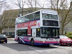 FirstNorwich 33151 - LR02LXK (Zak (Norwich Bus Page)) Tags: blueline 2016 33151 dennistridentplaxtonpresident firstnorwich lr02lxk routefec25