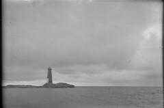 Jussarö; majakkasaari mereltä n. 500 m päästä nähtynä (KansallisarkistoKA) Tags: lighthouse 1922 beacon jussarö majakka