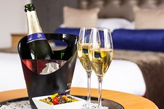 Hotel bliss (judethedude73) Tags: glasses heaven dof room champagne relaxing drinks alcohol olives