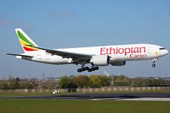Ethiopian Cargo | ET-ARK | Boeing 777-F60 | Brussels Airport BRU/EBBR (Matt Weight | Photos) Tags: brussels airport cargo landing boeing 777 bru ethiopian ebbr 77f 777f60 etark