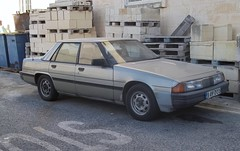 Mazda 929 #2 (occama) Tags: old car japanese malta mazda 1980s saloon 929 2015