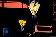 Industrial Art - Industrie Kunst (FotosAndreas) Tags: blue red art yellow kunst duisburg ruhrgebiet lightandshadow ruhrarea lpn lichtundschatten landschaftsparknordlpn andreasdinn lpnlandschaftsparknord
