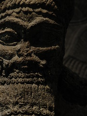 Close Attendance (failing_angel) Tags: london museum camden iii divine bloomsbury britishmuseum assyrian semiramis nimrud nabu 100515 sammuramat attendantgod attendanttemple nabugod writingadadnirari