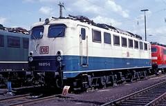 150 073  Hagen  09.05.99 (w. + h. brutzer) Tags: analog train germany deutschland nikon eisenbahn railway zug trains db 150 locomotive hagen lokomotive elok eisenbahnen e50 eloks webru