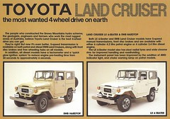 Toyota FJ40 Land Cruiser (Hugo-90, 35 million views) Tags: ads advertising rocky toyota catalog 40 suv brochure fj landcruiser