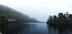 (Nasty P.) Tags: ireland mist lake abbey fog landscape raining kylemore