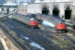 Amtrak 412 and 444 (Chuck Zeiler) Tags: railroad amtrak locomotive e9 412 444 e8ar