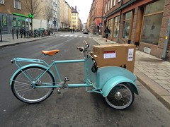 Cargobikes from Sweden