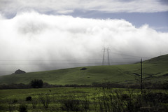 Wired Landscape (Joe Josephs: 2,600,180 views - thank you) Tags: california mountains weather fog clouds landscape foggy fineartphotography travelphotography californialandscape landscapephotography foggyweather outdoorphotography fineartprints joejosephsphotography