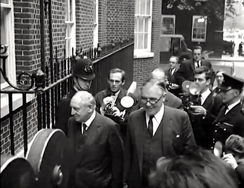 1964 Richard Crossman In Glasses Minister Of Housing Local