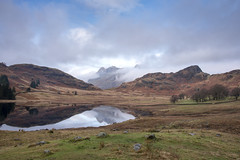 Parting clouds over Pike of Stickle, explored. (miketonge) Tags: cloud lakedistrict langdales bleatarn pikeofstickle