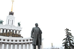 IMG_0783 (vertyft) Tags: lenin sky monument russia moscow ussr