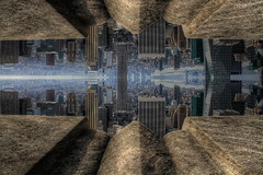 Top of the Rock 'Inception' [Different Angle] (jrseikaly) Tags: art digital photoshop jack photography mirror high dynamic graphic range hdr inception seikaly jrseikaly