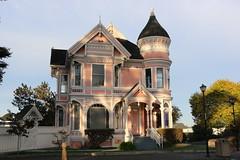 Victorian House, Eureka, Humboldt County, California, 2015 (travfotos) Tags: california humboldtcounty eureka victorianarchitecture victorianhouse