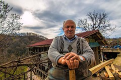 Wood Works.. (VarskvlaviTR) Tags: wood travel cloud nature canon turkey working tokina journey axe ordu 1116 70d