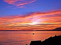 El cielo al atardecer (Antonio Chacon) Tags: sunset espaa atardecer mar spain agua andalucia cielo costadelsol mediterrneo mlaga marbella