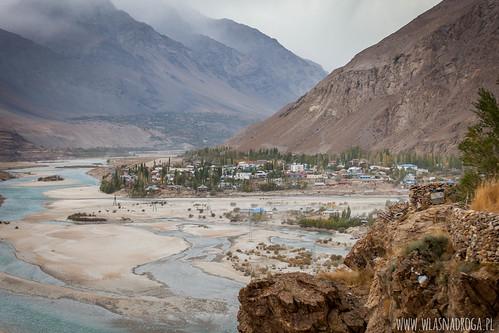 Widok na afgańską stronę