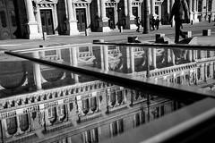gate (kareszzz) Tags: street winter people bw reflection reflections blackwhite hungary budapest streetphotography photowalk february pest 24105 2016 ef24105 vroskpek canon6d