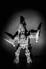 Bionicle Fighter (harkafoto) Tags: fighter lego olympus manual bionicle omd em1 oreston meyeroptik