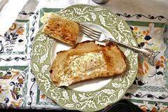 Egg in a Basket (bballchico) Tags: food breakfast toast egg egginabasket