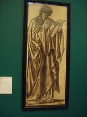 Burne Jones Sketch (Aidan McRae Thomson) Tags: museum birmingham artgallery westmidlands preraphaelite burnejones bmag