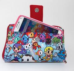 Happi Medium with slip pocket and tab 2 (The Happi Hippo) Tags: wallet jujube tokidoki thehappihippo