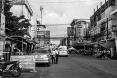 Rayong city (livestoriz) Tags: street travel girls people urban food cars walking thailand student candid streetlife thai shops rayong byke busystreet