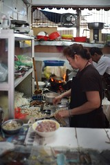 Noodle Stall (ah.b|ack) Tags: classic cooking wet 35mm soup open market f14 sony cosina voigtlander wide stall mc malaysia penang nokton butterworth vm clp teow a7ii koay a7mk2