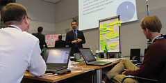 Group discussions during the workshop (United Nations Volunteers (UNV) programme) Tags: corporate csr volunteerism