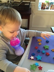 """Paul Plays with Star Stickers • <a style=""""font-size:0.8em;"""" href=""""http://www.flickr.com/photos/109120354@N07/24824955455/"""" target=""""_blank"""">View on Flickr</a>"""
