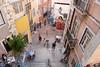 staircases of lisbon (Sabinche) Tags: street people portugal lumix lisbon panasonic staircase sabinche dmclx7