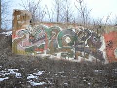 Old Sloe (Randall 667) Tags: street old urban art abandoned field island graffiti artwork artist exploring east providence master dna writer rhode legend tagger sloe sloer