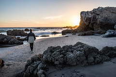Leo Carrillo Sunset (jimsheaffer) Tags: california camping sunset landscape coast seaside pacific pacificocean rockformation beachcamping leocarrillo leocarrillostatebeach nikond750